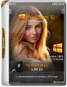 Windows 10 1803 Pro x86x64 By Vladios13 v.09.10