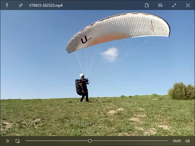 Пример открытия видеофайла